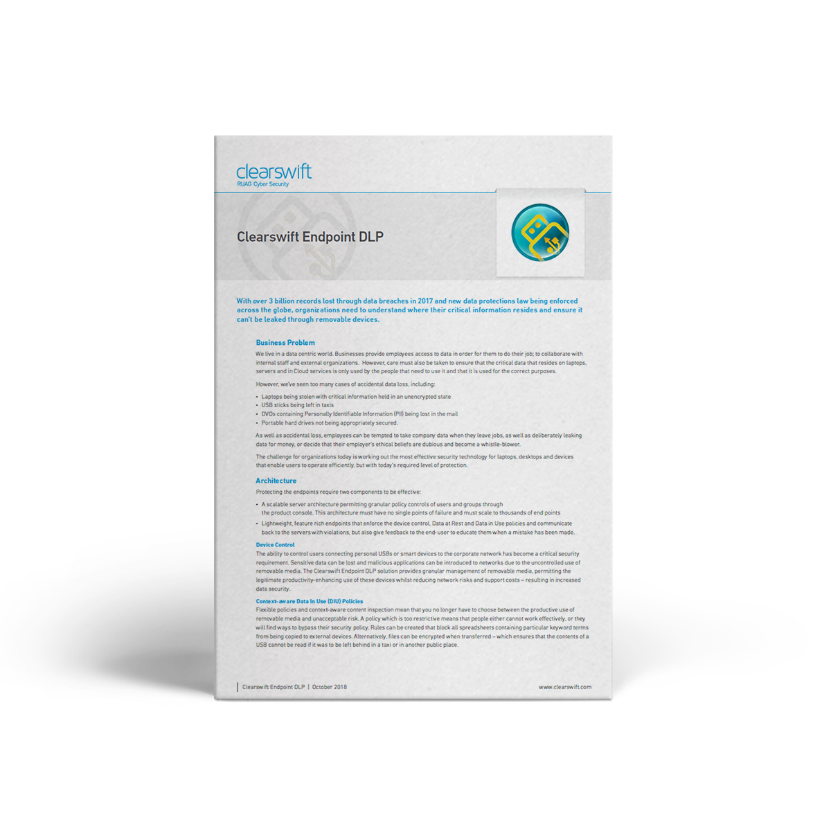 Clearswift CED datasheet